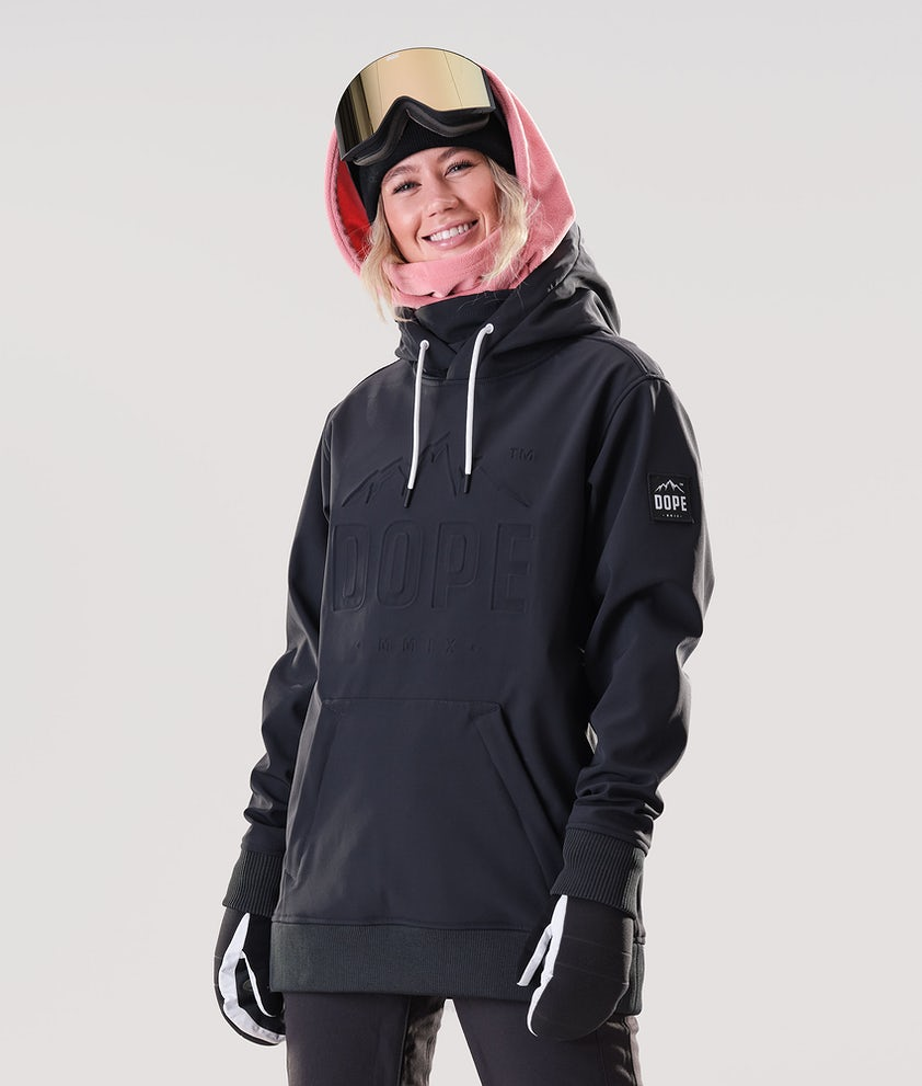Dope Yeti EMB Snowboardjakke Black