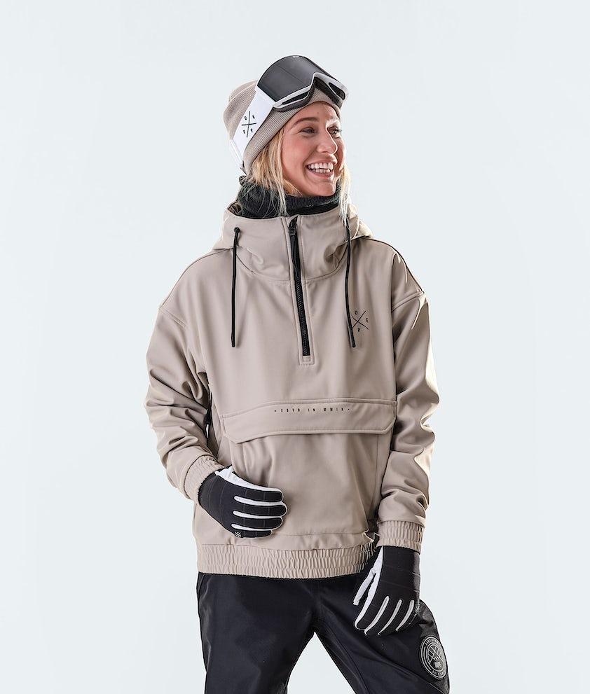 Dope Cyclone W Snowboard jas Sand