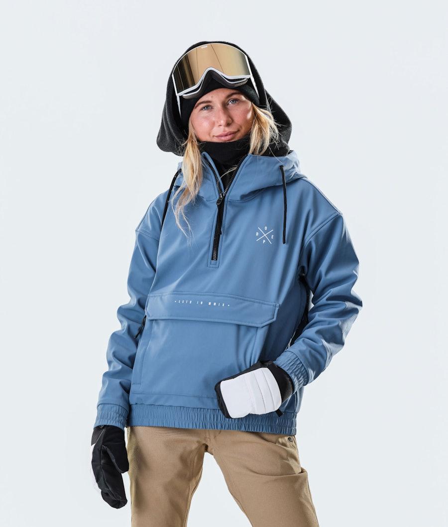 Dope Cyclone W Snowboard Jacket Blue Steel