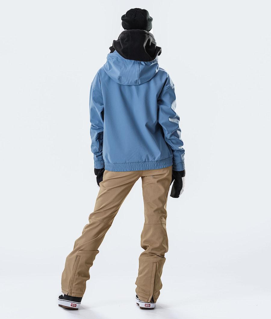 Dope Cyclone W Veste de Snowboard Femme Blue Steel