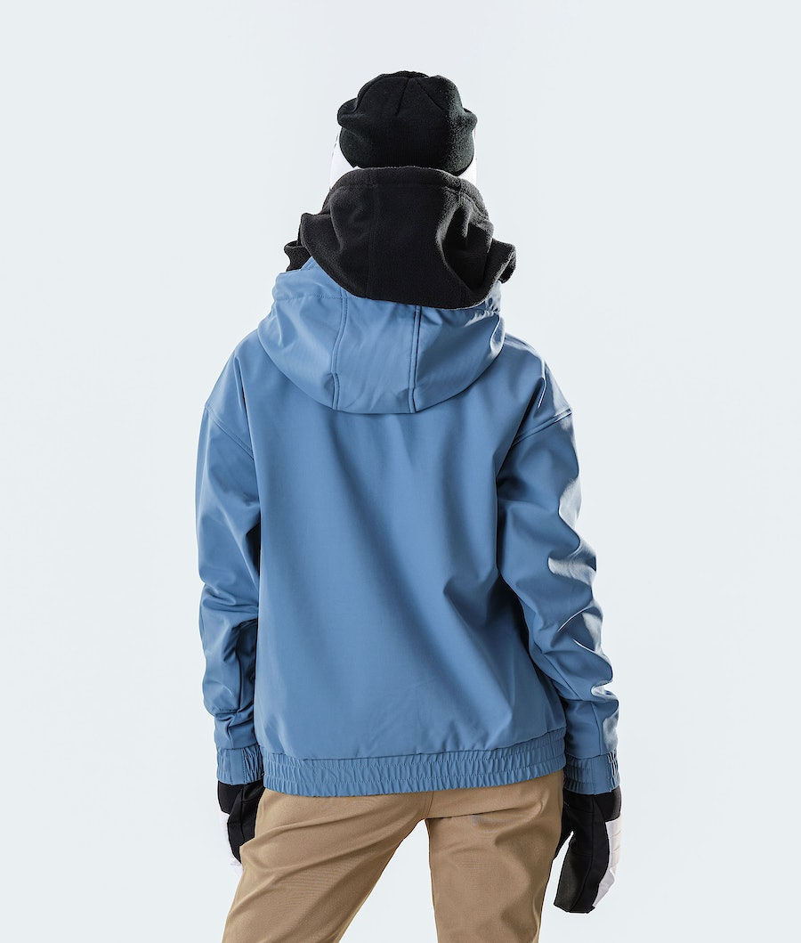Dope Cyclone W Women's Ski Jacket Blue Steel