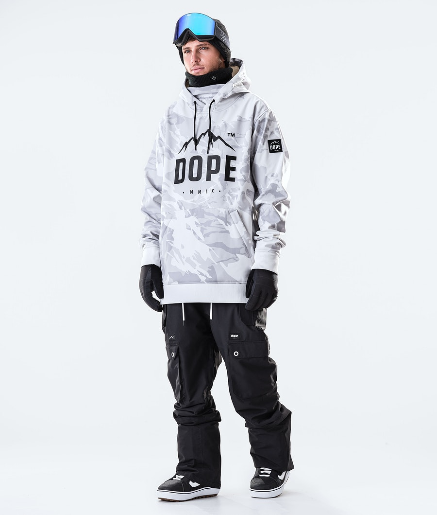 Dope Yeti Paradise Giacca da Snowboard Tucks Camo