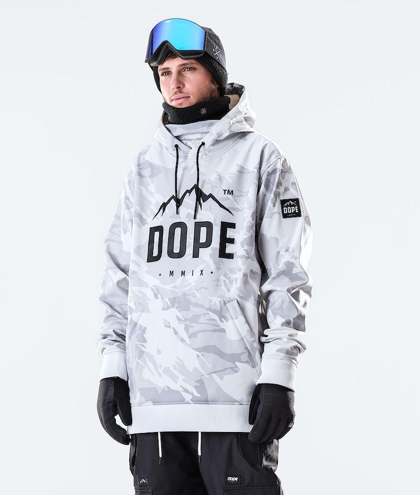 Dope Yeti Paradise Ski Jacket Tucks Camo