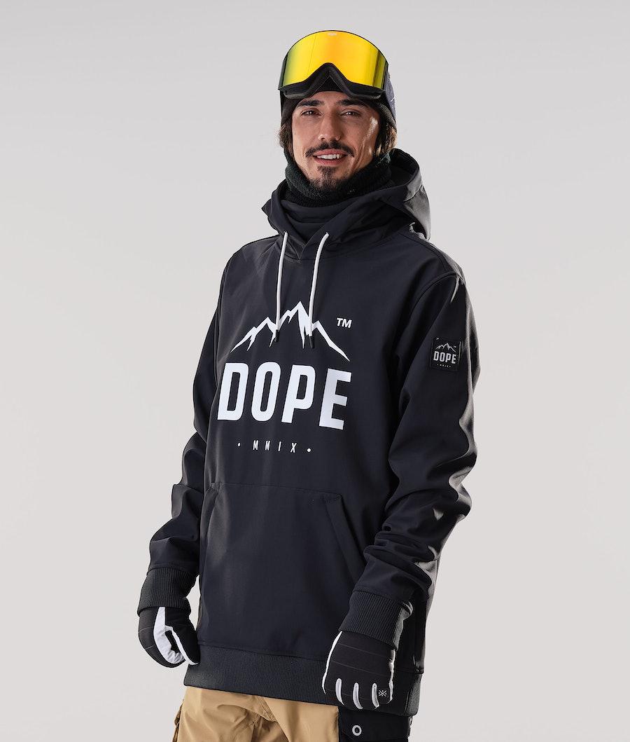 Dope Yeti Paradise Snowboard Jacket Black