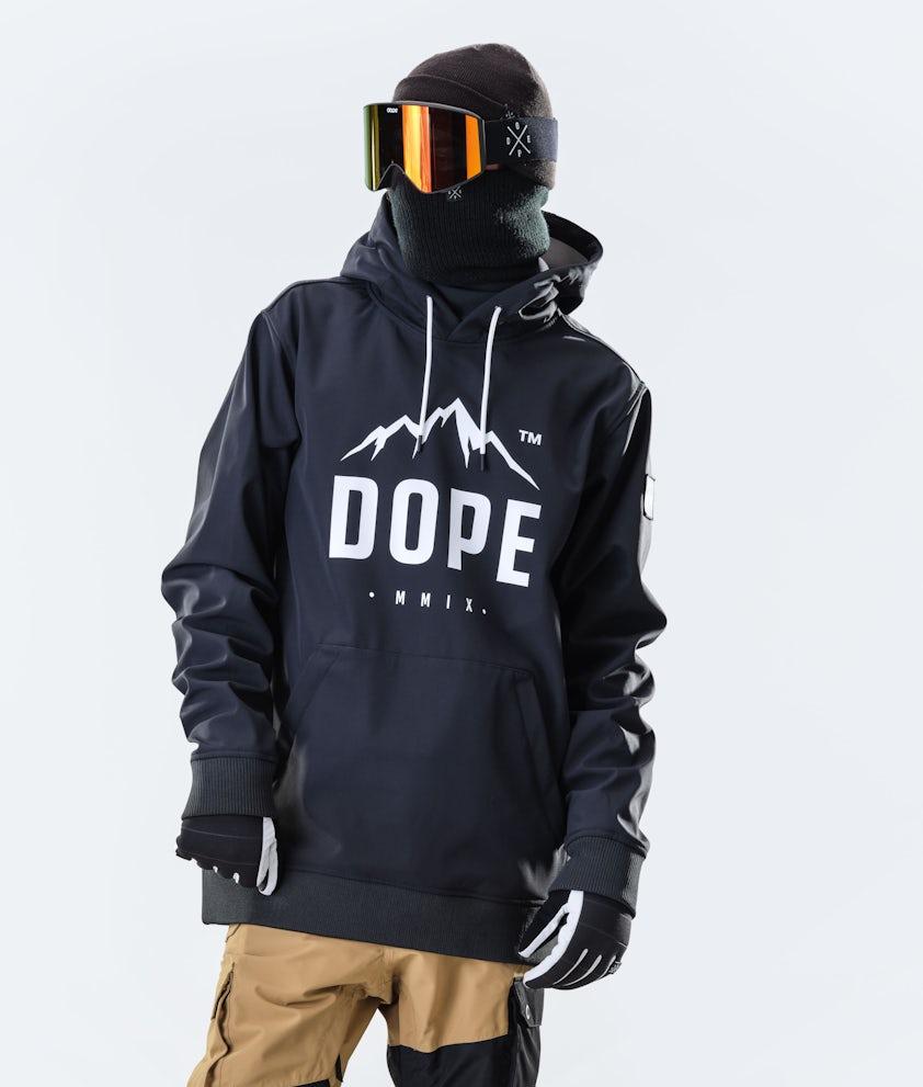Dope Yeti Paradise Snowboardjakke Black