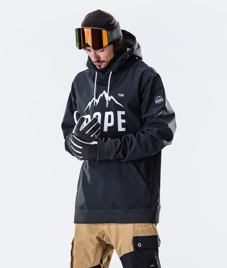 Dope Yeti Paradise Giacca da Snowboard Black