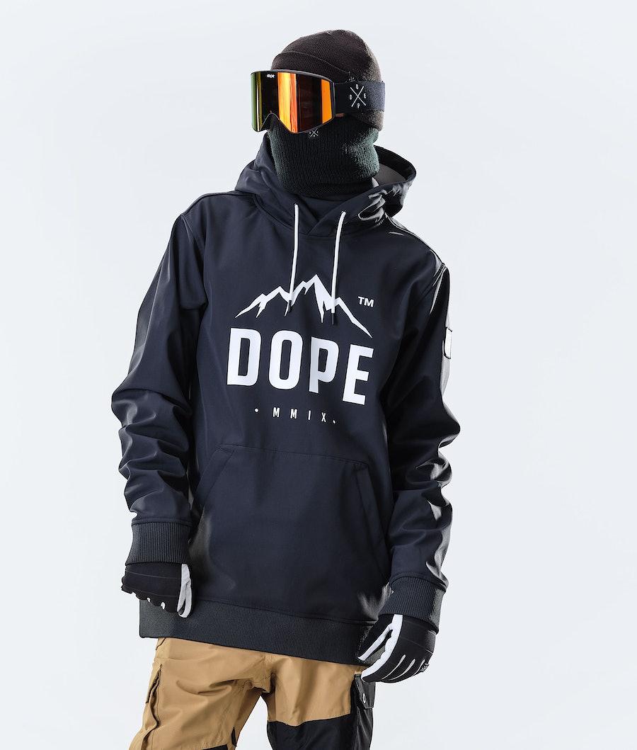 Dope Yeti Paradise Ski Jacket Black