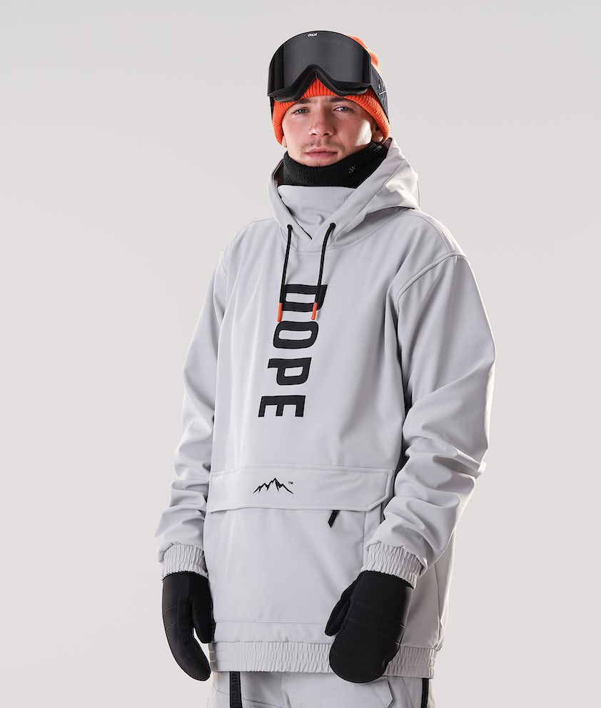 Dope Wylie OG Snowboard Jacket Light Grey