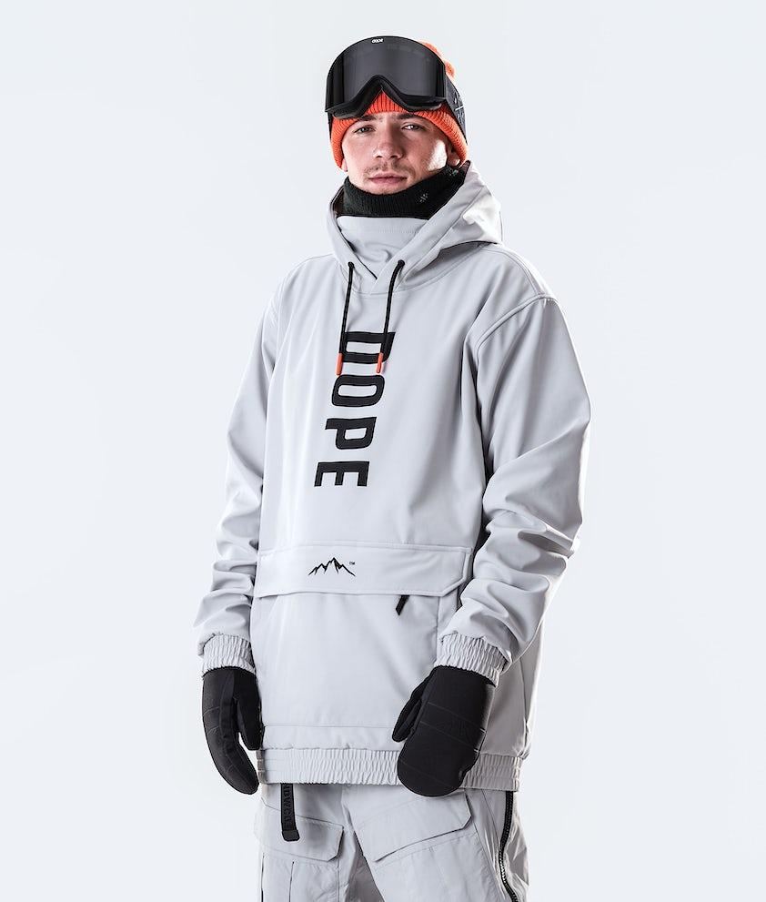 Dope Wylie OG Snowboardjakke Light Grey
