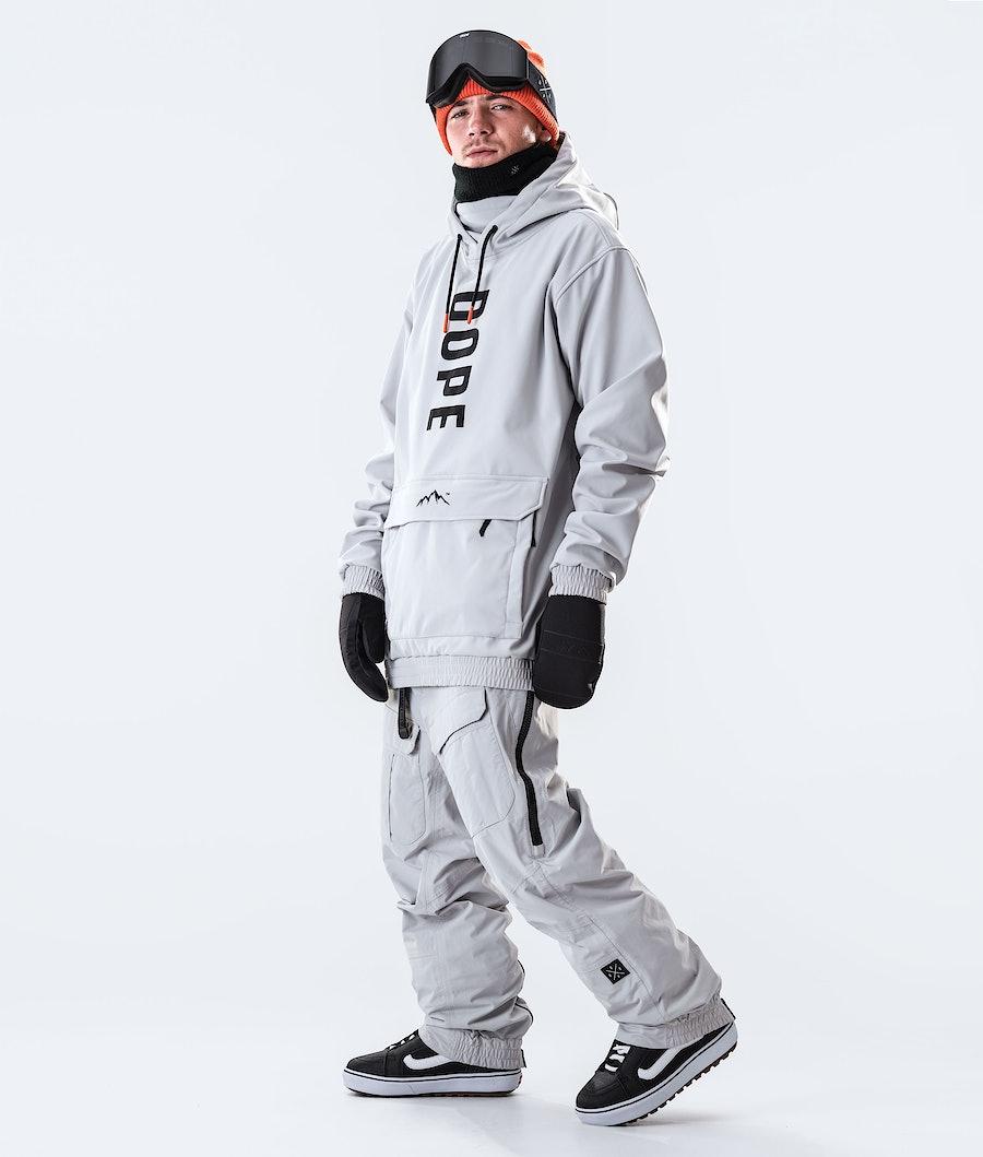 Dope Wylie OG Giacca da Snowboard Light Grey