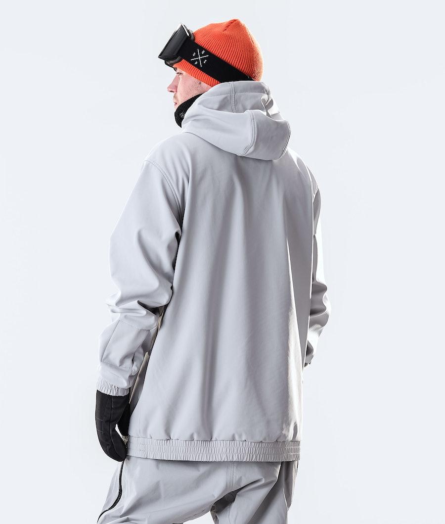 Dope Wylie OG Veste de Ski Light Grey