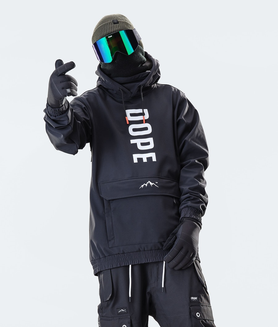 Dope Wylie OG Giacca da Snowboard Black