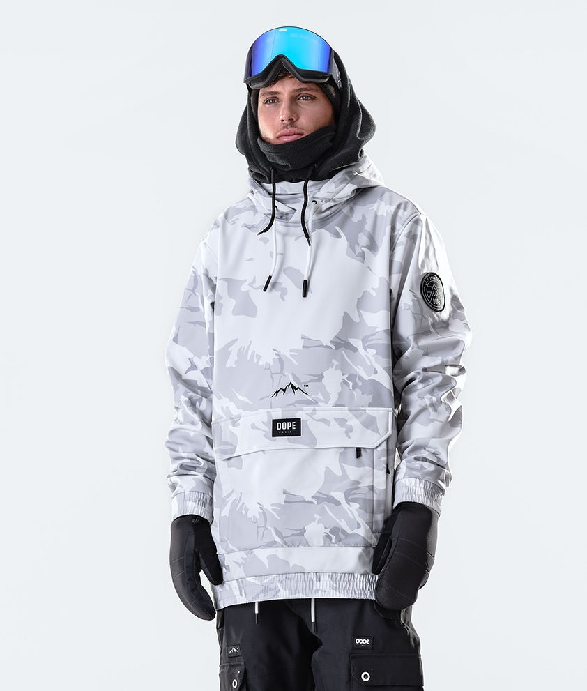 Dope Wylie Patch Snowboard Jacket Tucks Camo