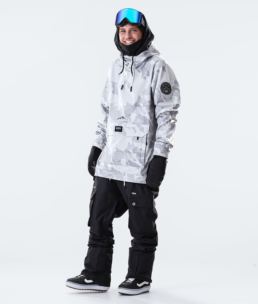 Dope Wylie Patch Snowboard Jacket Tucks Camo