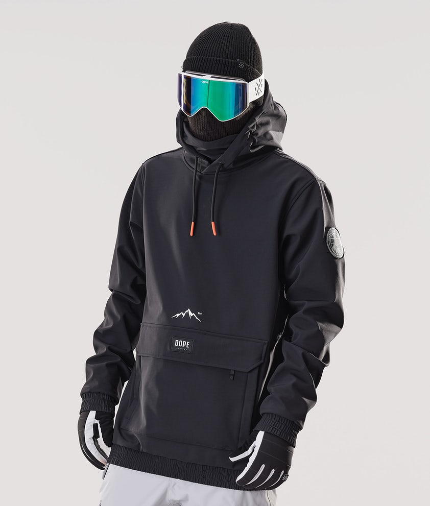 Dope Wylie Patch Snowboardjacka Black