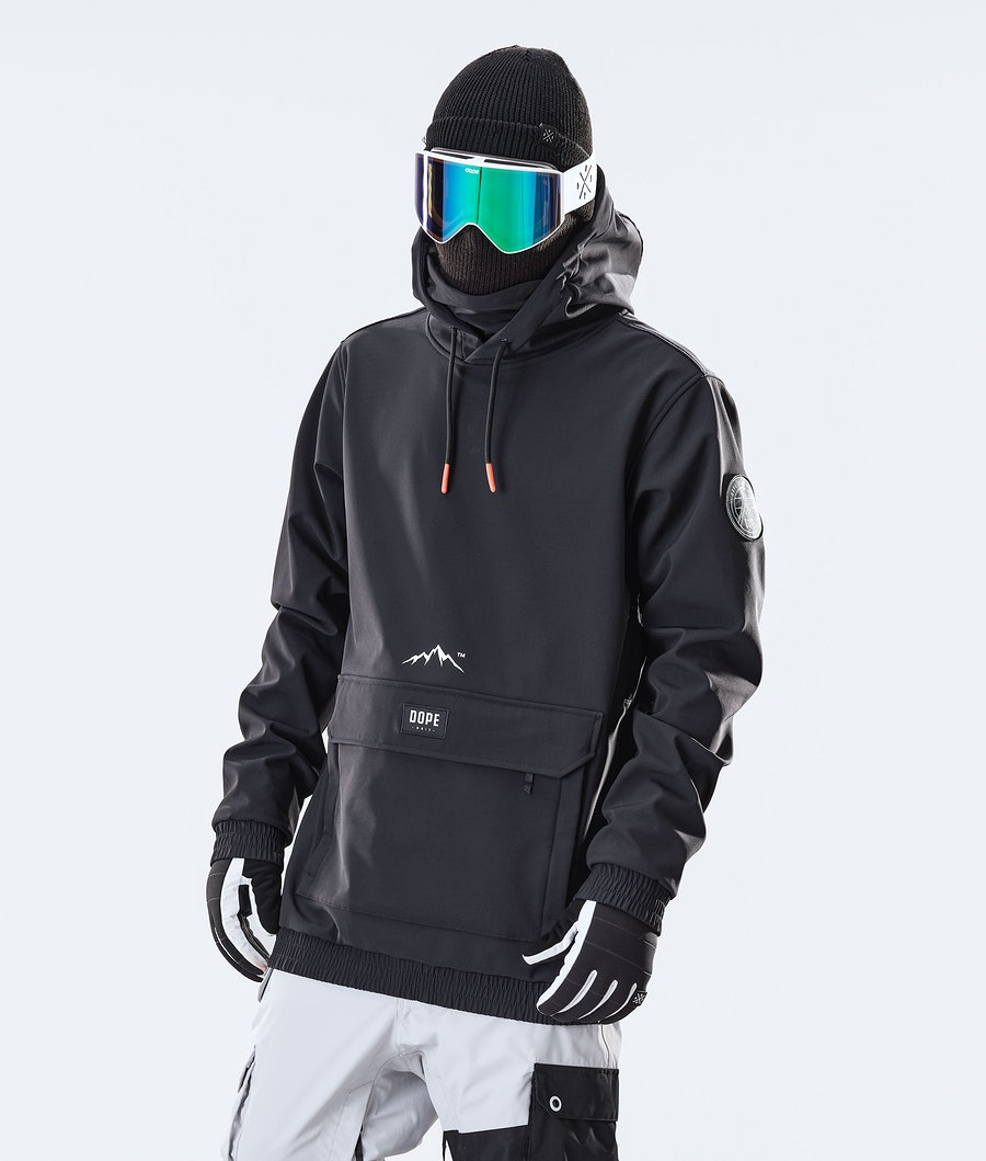 Dope Wylie Patch Skijacke Black