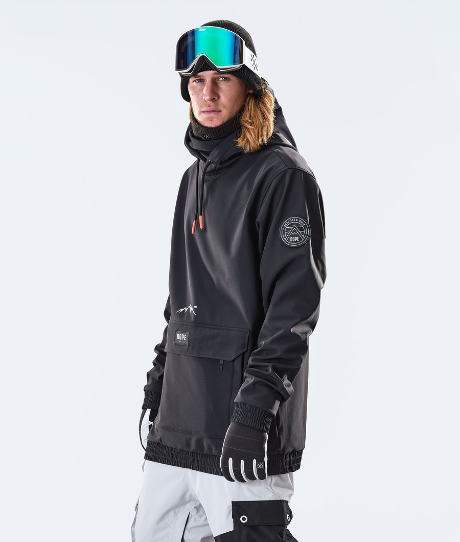 Dope Wylie Patch Veste de Ski Black