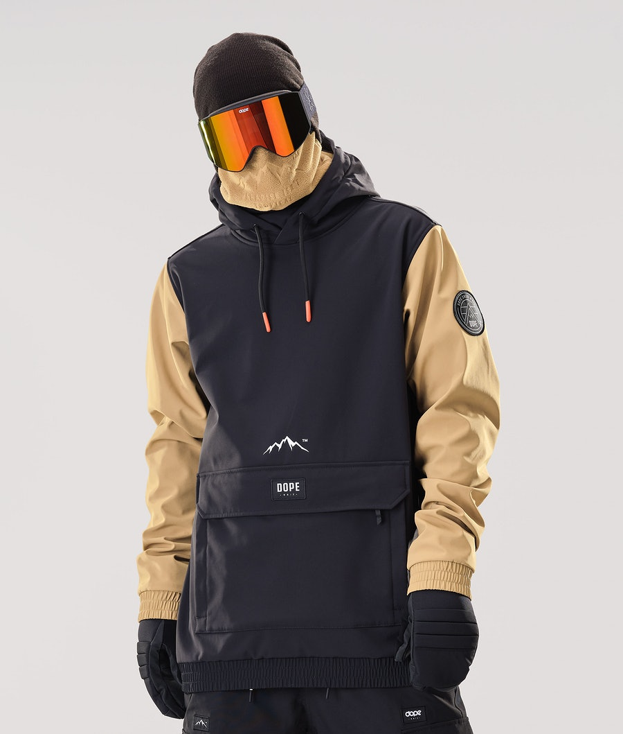 Dope Wylie Patch Veste de Snowboard Black/Gold