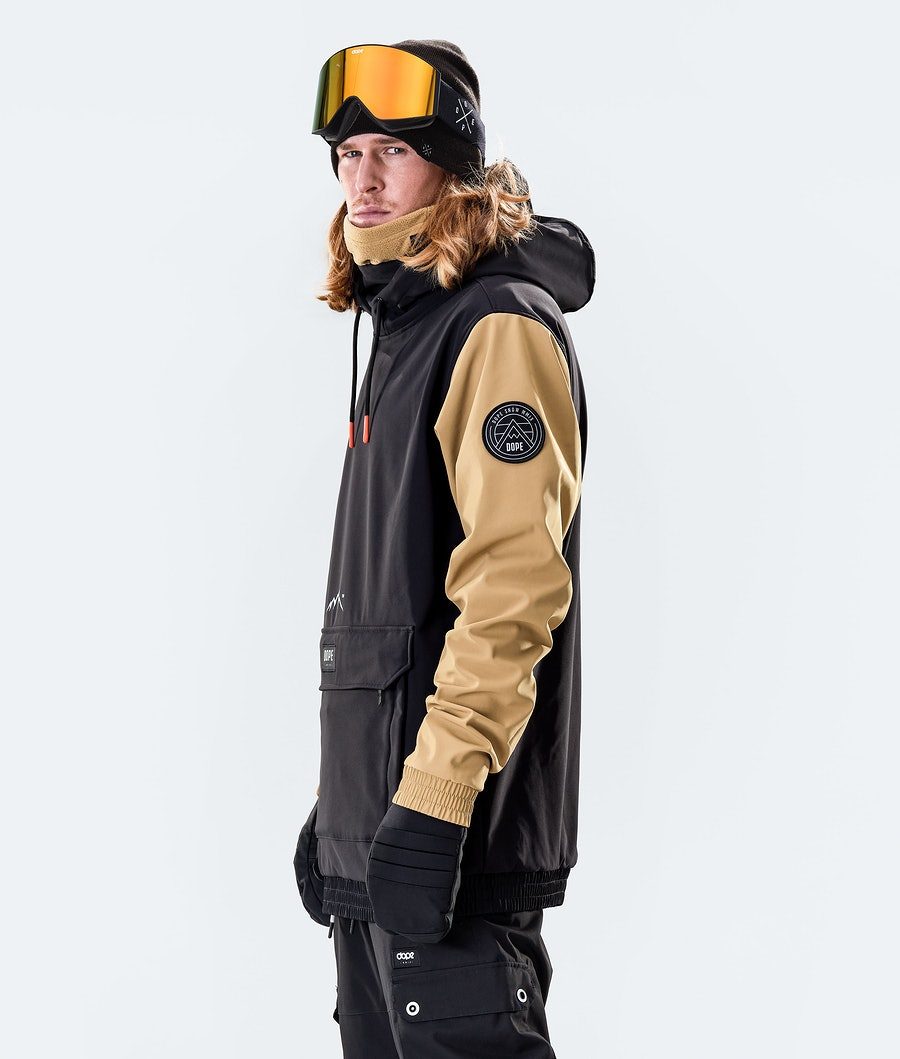 Dope Wylie Patch Snowboardjacka Black/Gold