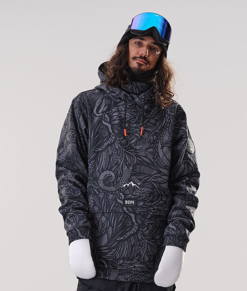 Dope Wylie Patch Snowboardjacka Shallowtree