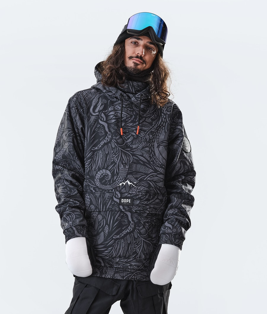 Dope Wylie Patch Giacca da Snowboard Shallowtree