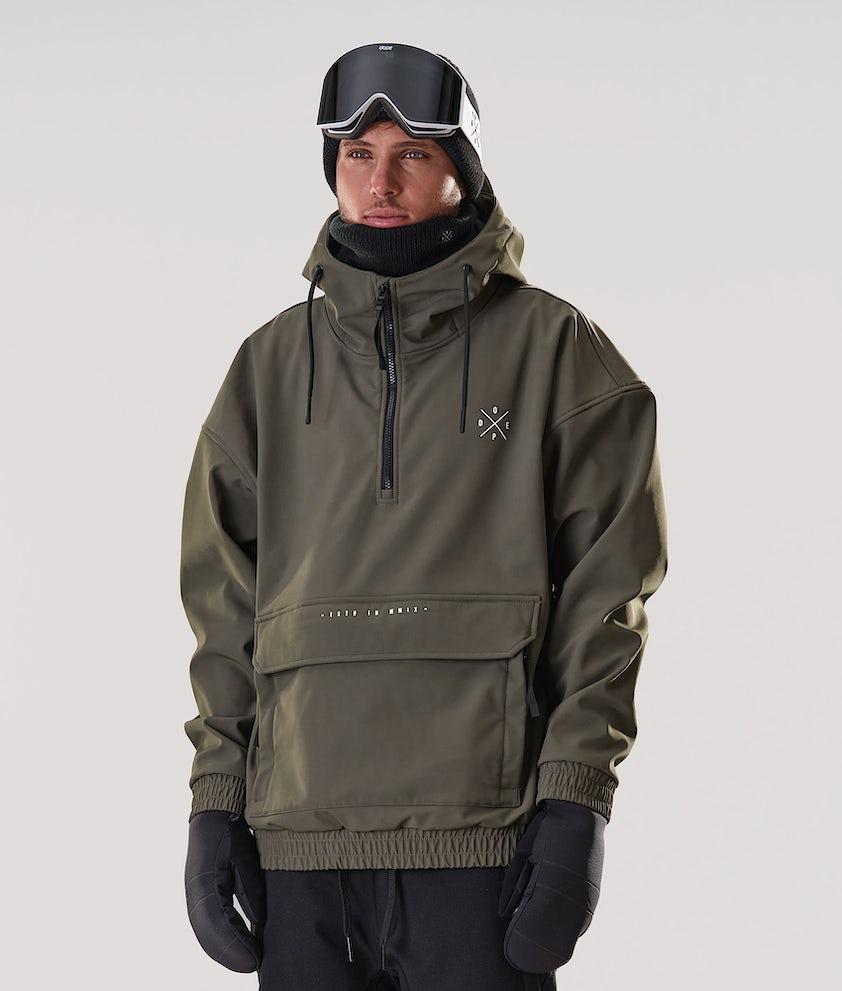 Dope Cyclone Giacca da Snowboard Olive Green