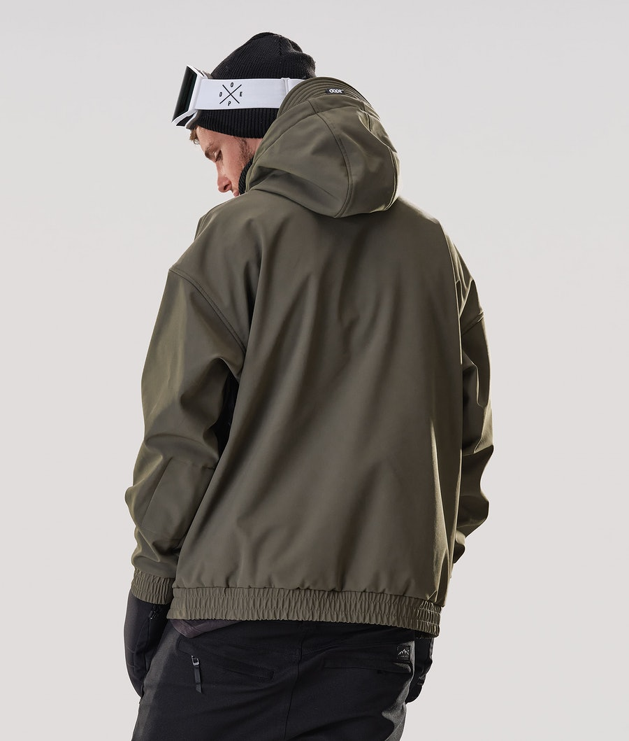 Dope Cyclone Snowboard Jacket Olive Green