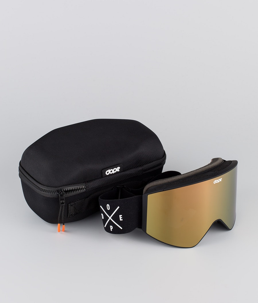 Dope Sight Medium Skibrille Black W/Black Champagne