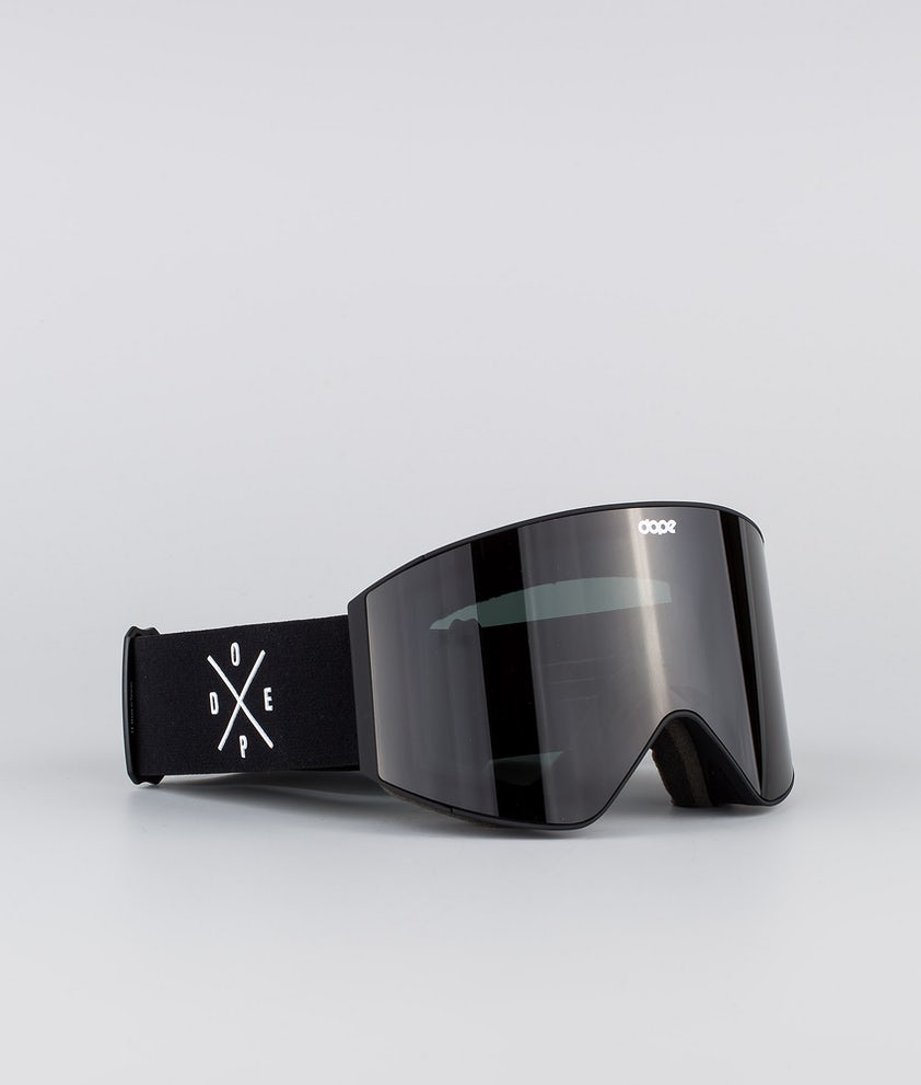 Dope Sight Medium Masque de ski Black W/Black Black