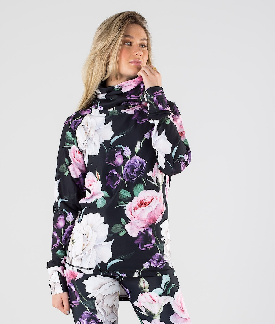 Eivy Icecold Gaiter Top Base Layer Top Rose Garden