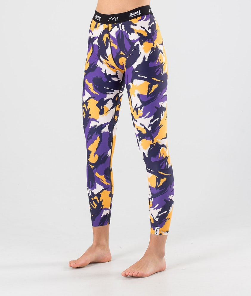 Eivy Icecold Tights Base Layer Pant Mountain Splash Purple