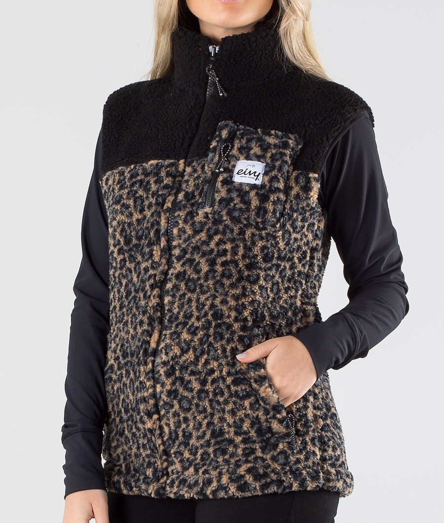 Eivy Lumberjackie Sherpa Väst Dam Leopard