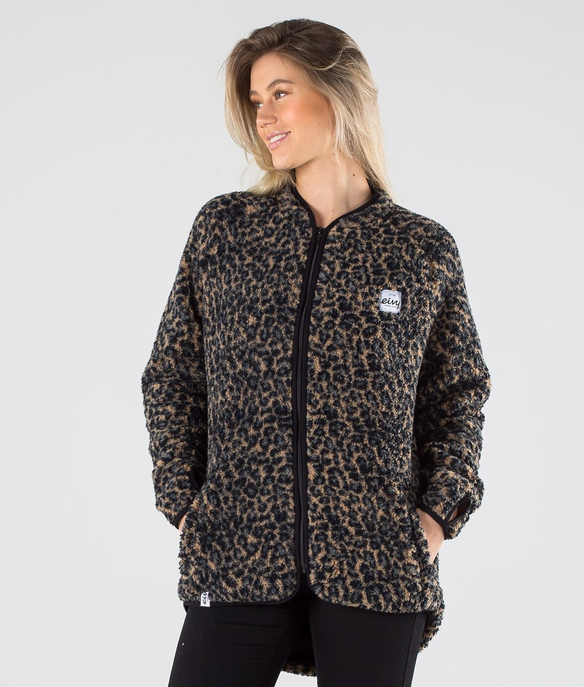 Eivy Redwood Sherpa Jakke Leopard