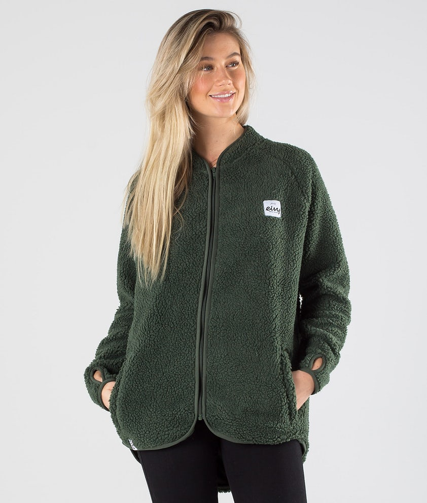 Eivy Redwood Sherpa Jacka Forest Green