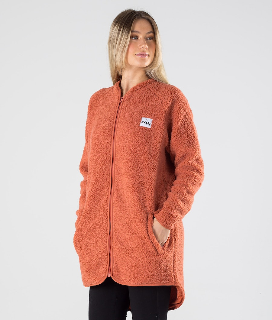 Eivy Redwood Sherpa Coat Jacket Rustic