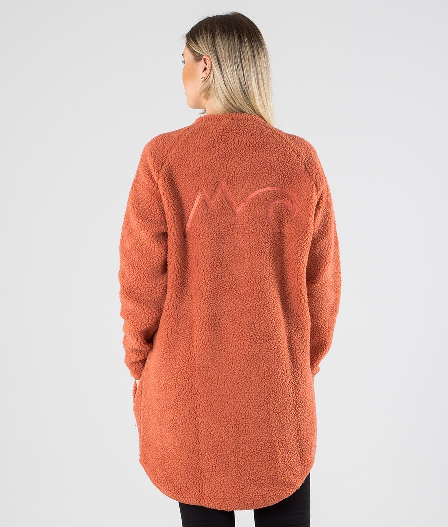 Eivy Redwood Sherpa Coat Jakke Dame Rustic