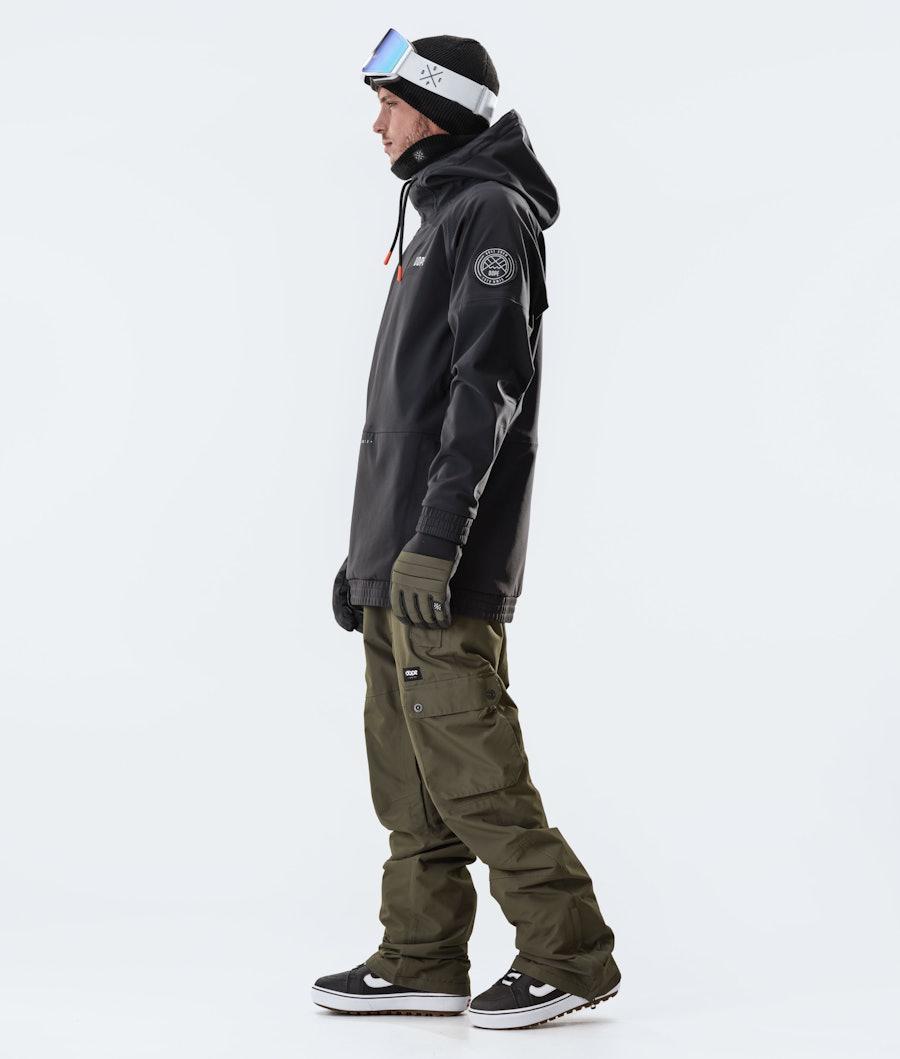 Dope Rogue Giacca da Snowboard Black