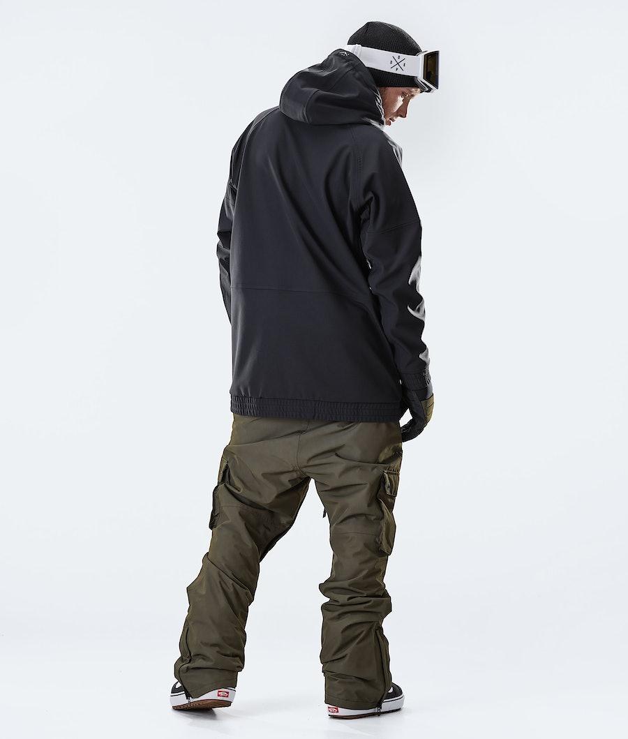 Dope Rogue Snowboard Jacket Black