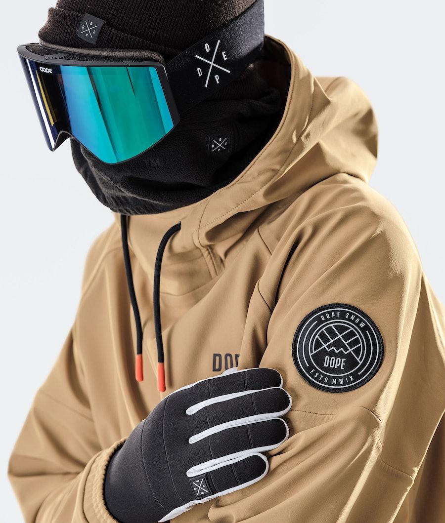 Dope Rogue Snowboard Jacket Gold