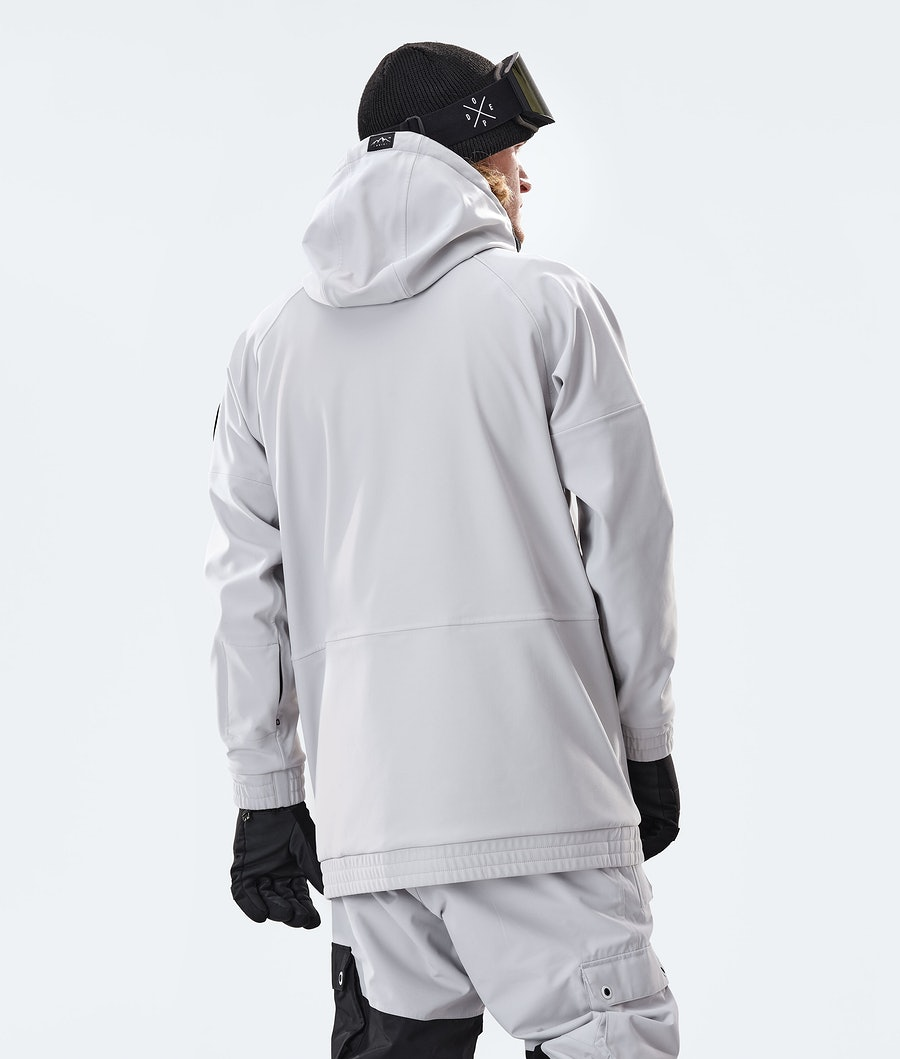 Dope Rogue Snowboard Jacket Light Grey