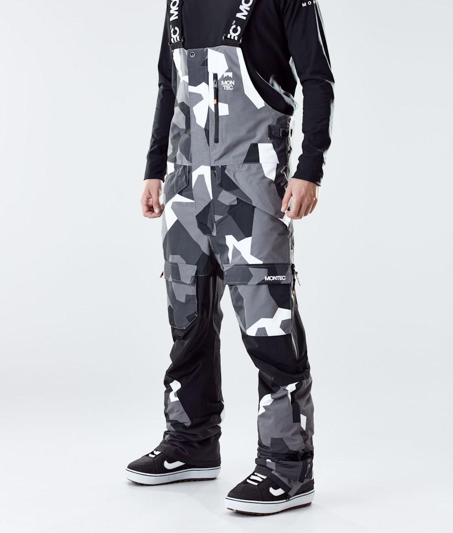 Montec Fawk Snowboard Pants Arctic Camo/Black