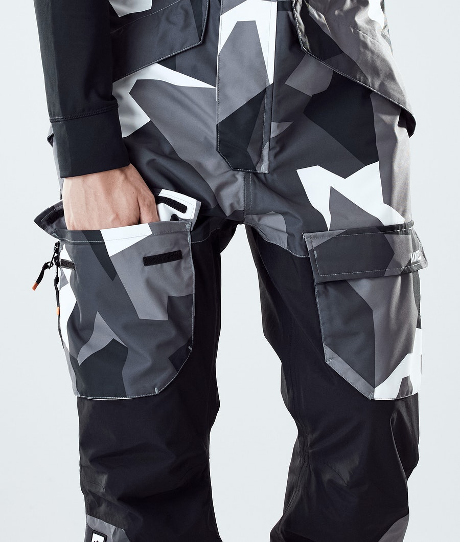 Montec Fawk Snowboardbyxa Arctic Camo/Black