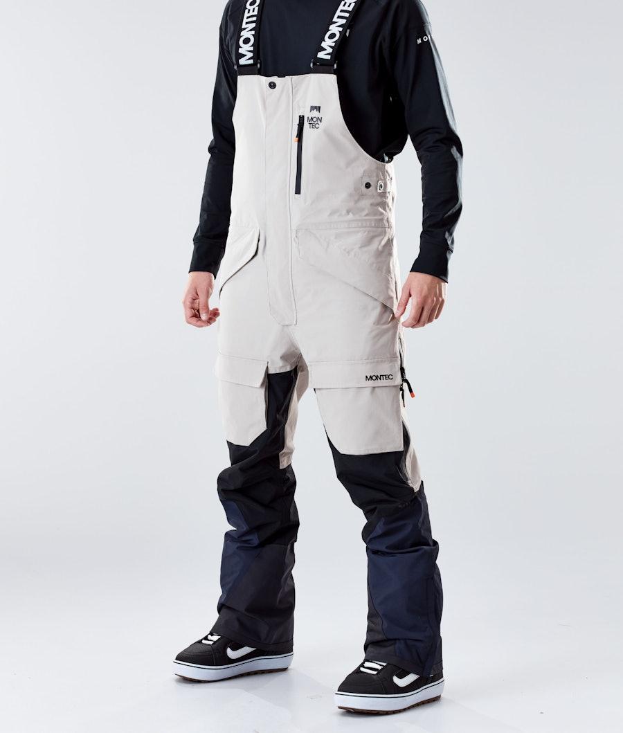 Montec Fawk Pantalon de Snowboard Sand/Black/Marine