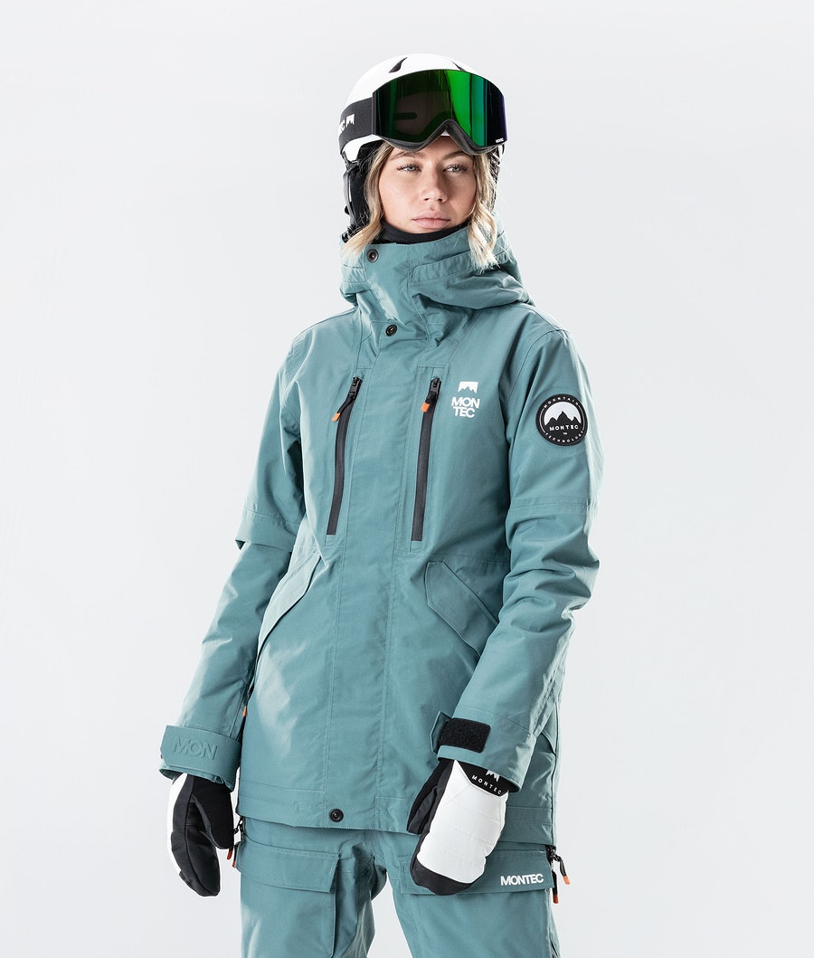 Montec Roc W Snowboard Jacket Atlantic