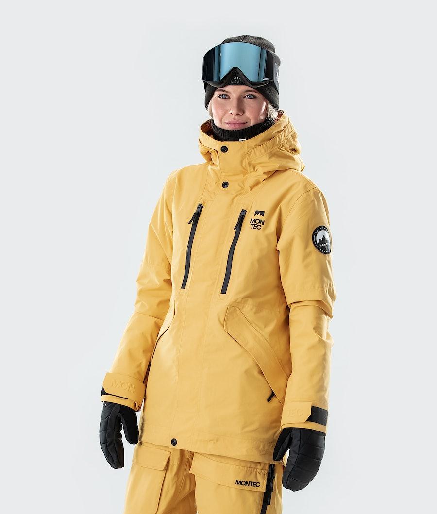 Montec Roc W Veste de Snowboard Yellow