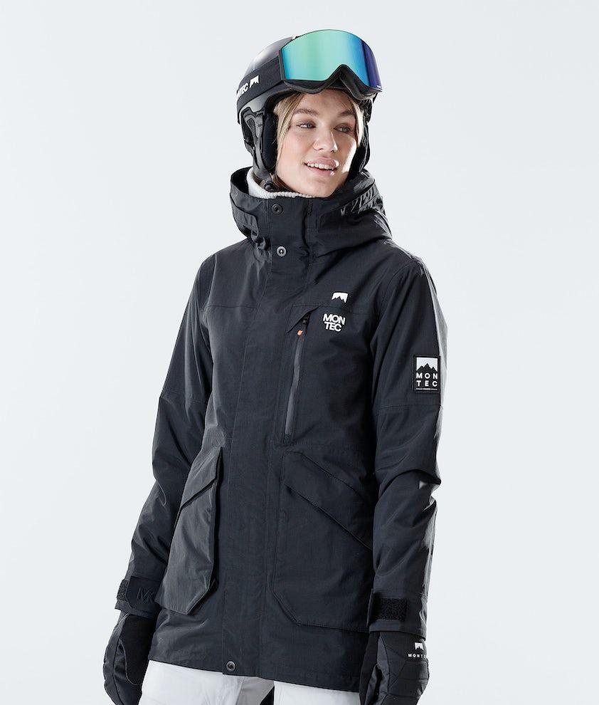 Montec Virago W Snowboardjacka Black