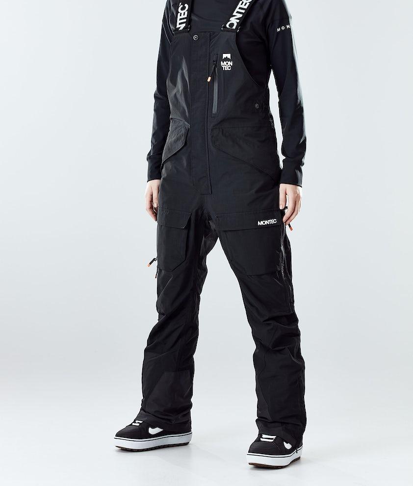 Montec Fawk W Snowboardbukse Black