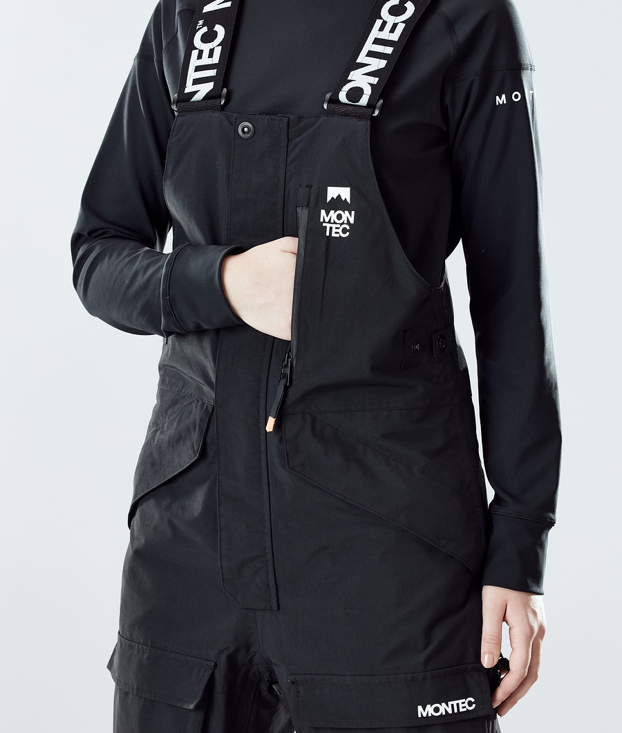Montec Fawk W Women's Snowboard Pants Black