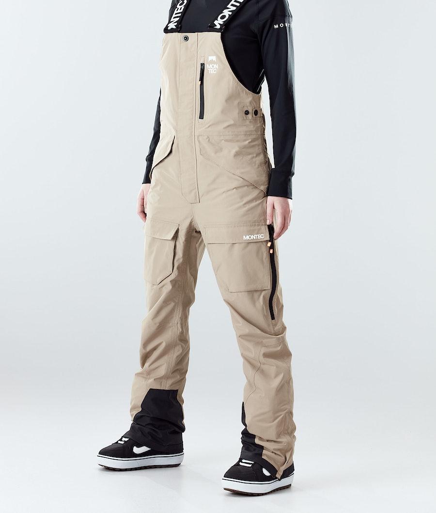 Montec Fawk W Pantaloni da Snowboard Khaki