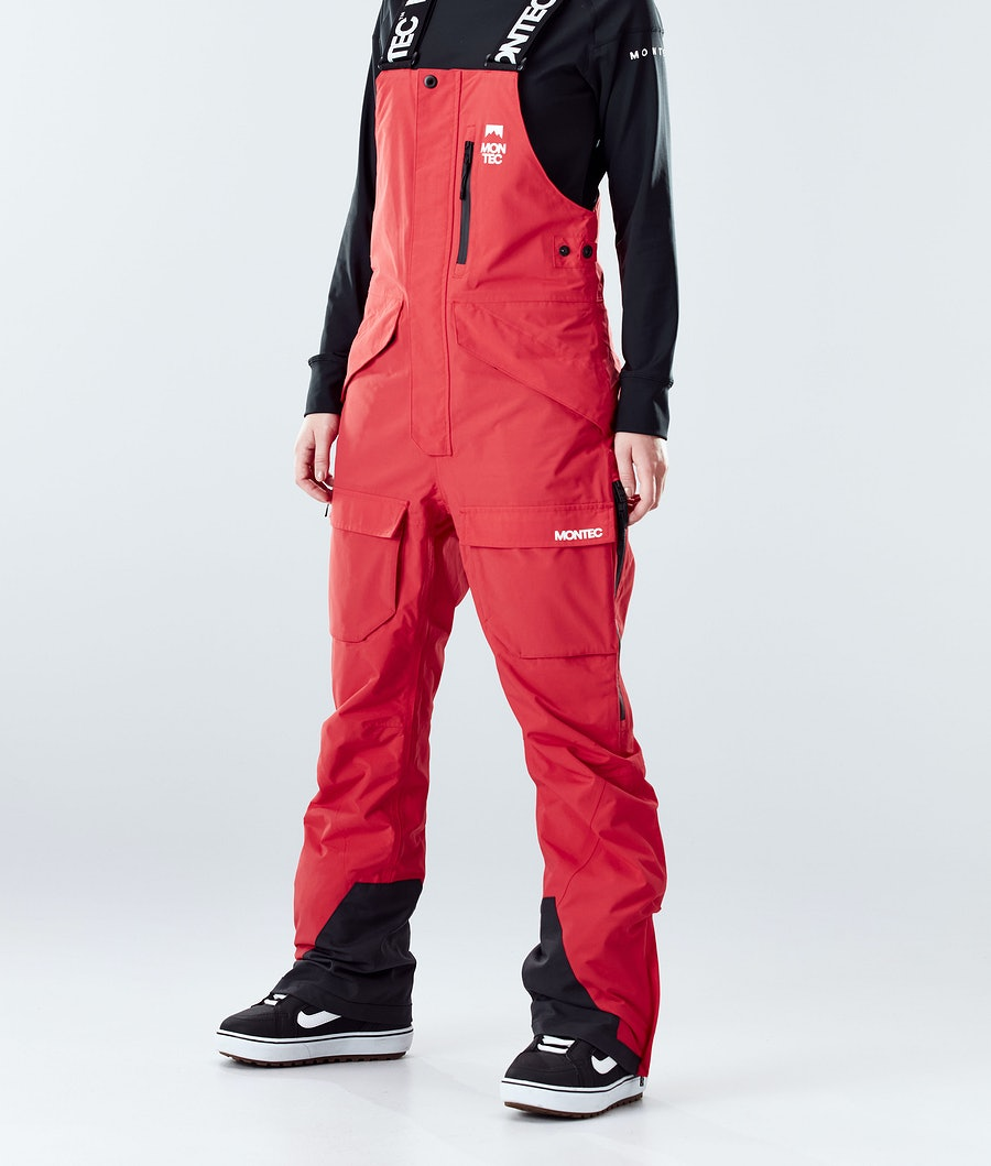 Montec Fawk W Snowboard Pants Red